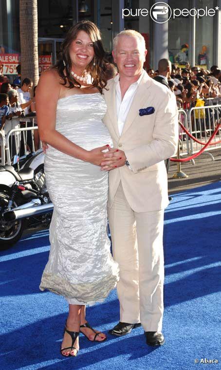 Neal McDonough et sa femme Ruvé lors de l'avant première de Captain ...