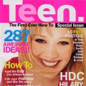 Flashback : Les débuts de Hilary Duff, ses premières couvertures