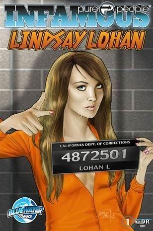 Lindsay Lohan devient star de bande dessinée.