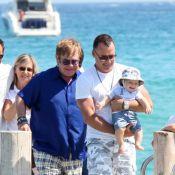 Elton John et son mari David : Impossible de résister à leur craquant Zachary