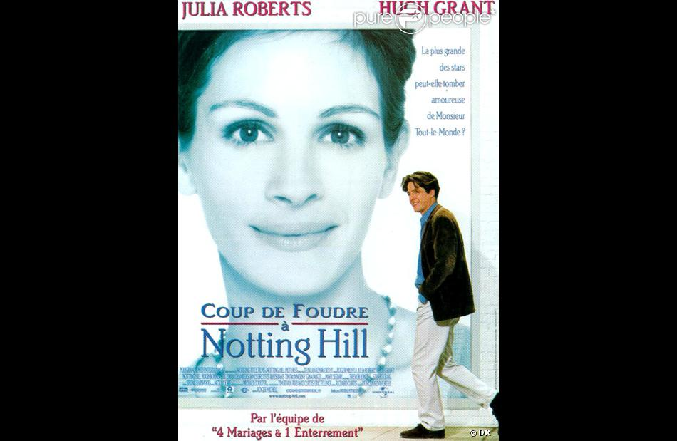 L 39 affiche du film coup de foudre notting hill 1999 - Coup de foudre a notting hill musique ...