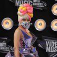 Nicki Minaj aux MTV Video Music Awards, à Los Angeles, le 28 août 2011.