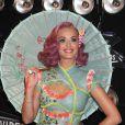 Katy Perry aux MTV Video Music Awards, à Los Angeles, le 28 août 2011.