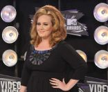 Adele aux MTV Video Music Awards, à Los Angeles, le 28 août 2011.