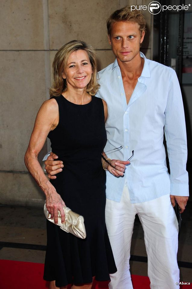 Claire Chazal et Arnaud Lemaire en juillet 2011.