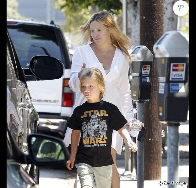 Kate Hudson et son fils Ryder à Los Angeles en août 2011