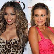 Ciara vs Carmen Electra : Combat de décolletés... sauvage ou acidulé ?