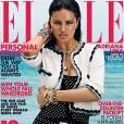 Adriana Lima pose pour le numéro d'octobre du Elle US