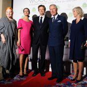 Charles et Camilla ravis de filer la laine avec Colin Firth et sa superbe Livia