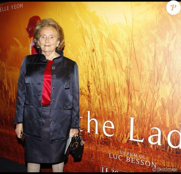 Bernie à la soirée de gala organisée en faveur de la Fondation Pompidou, présidée par Bernadette Chirac. 13 septembre 2011