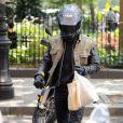 Justin Theroux a rejoint sa compagne Jennifer Aniston dans West Village à New York pour un déjeuner en amoureux le 14 septembre 2011