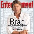 Brad Pitt en couverture du magazine Entertainment Weekly - septembre 2011