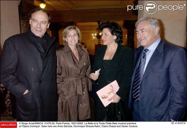 Claire Chazal, Anne Sinclair et DSK, des amis de longue date !