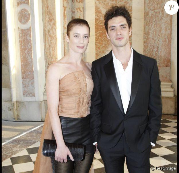 Aurélie Dupont et son fiancé Jérémie Bélingard en juillet 2011.