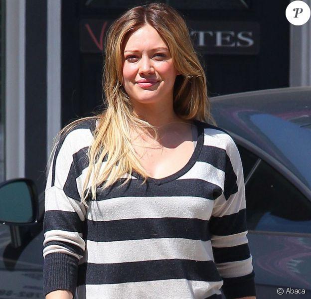 Hilary Duff à Los Angeles, en septembre 2011.