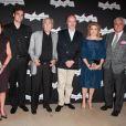 Carole Amiel, Valentin Livi, Michel Legrand, Jean-Paul Rappeneau, Catherine Deneuve et Jean-Loup Dabadie lors de la présentation du Sauvage à la Cinémathèque de Paris le 26 septembre 2011