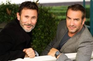Jean Dujardin et Michel Hazanavicius : Un 'Artist' et un heureux papa au top