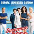Valerie Lemercier à l'affiche de Bienvenue à bord avec aussi Franck Dubosc et Gérard Darmon