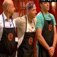 Bruno, Oliiver et Matthias sont soumis au test sous pression dans Masterchef 2