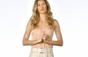 Gisele Büdchen : Sa pub sexy ne sera pas censurée