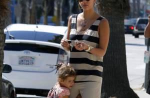 Jessica Alba : Une jeune maman organisée qui en met plein la vue