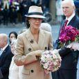 La famille royale danoise était rassemblée mardi 4 octobre 2011 pour l'ouverture de la session du Parlement qui a vu Helle Thorning-Schmidt prendre ses fonctions de Premier ministre.
