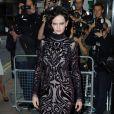 Eva Green, portant une robe Emilio Pucci, lors de l'avant-première à Londres du film Perfect Sense le 4 octobre 2011
