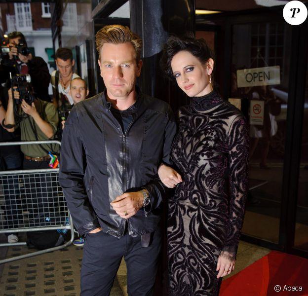 Ewan McGregor et Eva Green lors de l'avant-première à Londres du film Perfect Sense le 4 octobre 2011