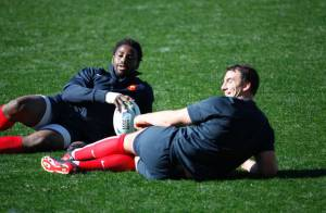 Coupe du monde de Rugby : Les Bleus souriants et détendus après la tempête