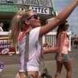 Annaëlle à la plage dans les Anges de la télé-réalité 3, vendredi 7 octobre 2011 sur NRJ 12