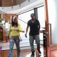 Carine et Mathieu dans les Anges de la télé-réalité 3, vendredi 7 octobre 2011 sur NRJ 12