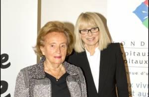 Bernadette Chirac et Mireille Darc très chic pour relever leur défi