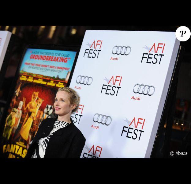 Julie Delpy à Los Angeles le 30 octobre 2009, pour l'avant-première de Fantastic Mr. Fox