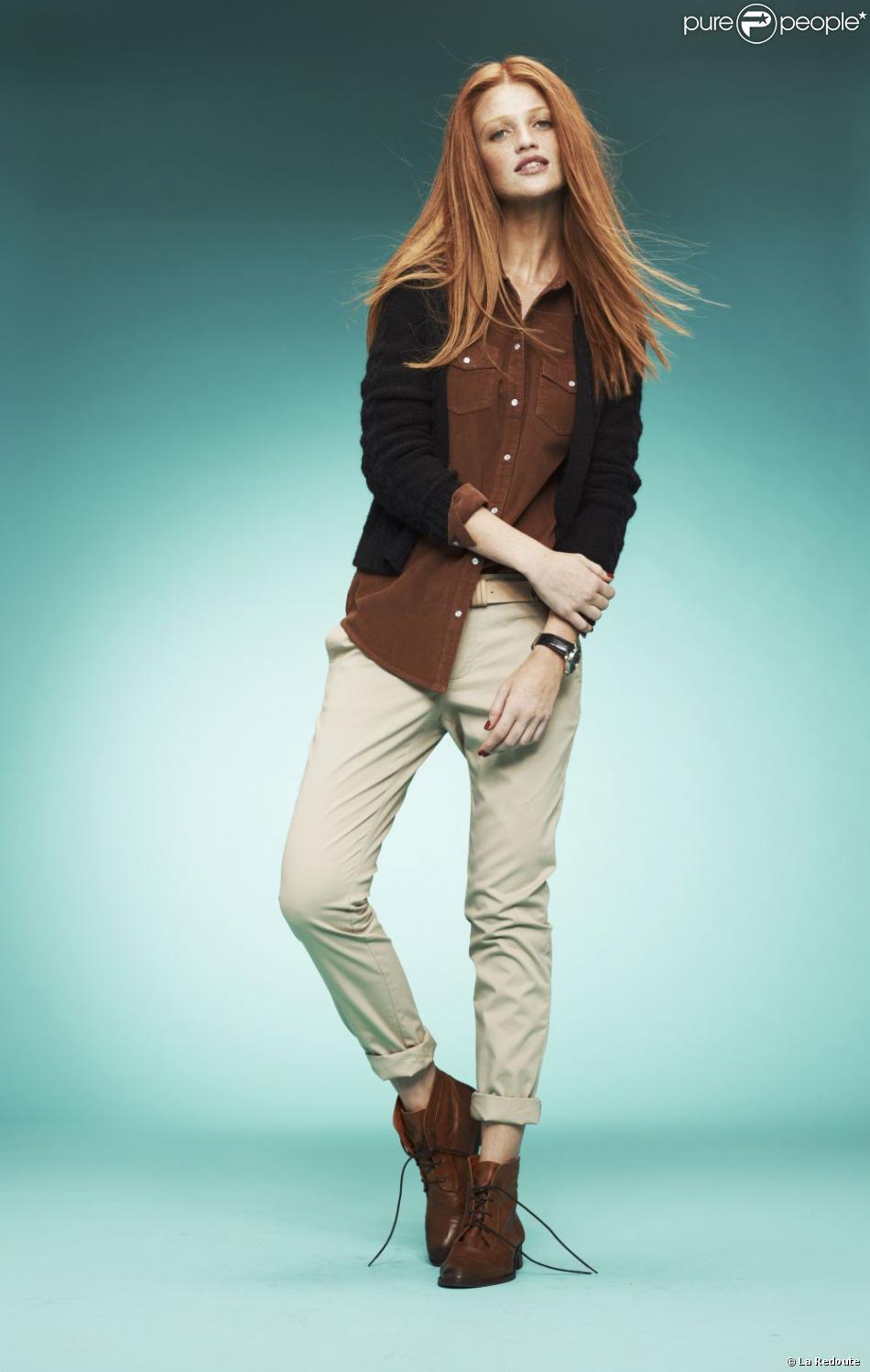 Look boyish parfait pour l 39 hiver cardigan 29 99 euros chemise 24 99 euros et pantalon beige - Couvrir arbuste pour l hiver ...