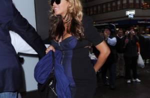 Beyonce affiche ses courbes de future maman