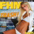 Paris Hilton, trop riche et trop sexy pour le FHM français. Septembre 2004.