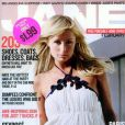 Paris Hilton a enfilé une robe, pour faire la Une du magazine Jane. Février 2005.