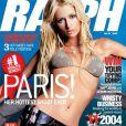 Paris Hilton joue la militaire sexy pour le magazine Ralph. Avril 2004.