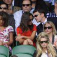 Pippa Middleton et Alex Loudon à Wimbledon en juin 2011