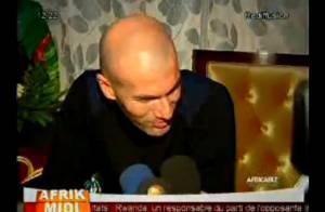 Zinedine Zidane : Accueilli comme une rock star lors d'une visite au Mali