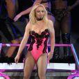 Britney Spears se produit à l'Arena de Montpellier, le vendredi 21 octobre 2011.