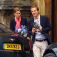 Beatrice d'York et son boyfriend Dave Clark, à Edimbourg, le 31 juillet 2011.