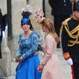 Les princesses Eugenie et Beatrice au mariage du prince William et Kate Middleton, à Londres, le 29 avril 2011.