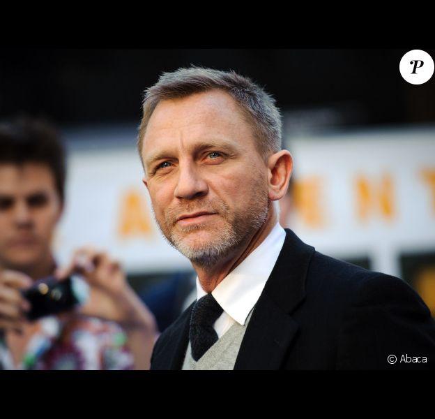 Daniel Craig présente Les aventures de Tintin : Le secret de la Licorne à Londres le 23 octobre 2011.