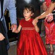 Valentina, fille de Salma Hayek, lors de l'avant-première à Los Angeles du film Le Chat Potté le 23 octobre 2011
