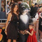 Salma Hayek et sa fille Valentina ensemble pour un câlin géant