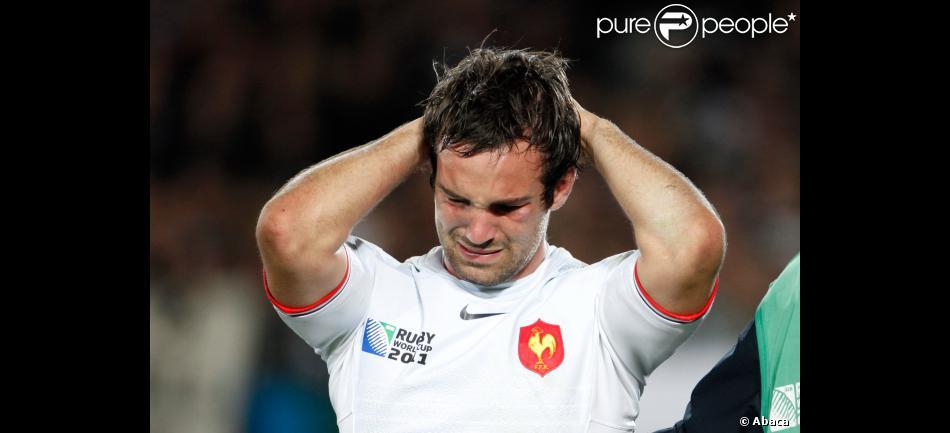 Les larmes de morgan parra lors de la finale de la coupe - Arbitre finale coupe du monde rugby 2011 ...