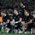 Le fameux Haka lors de la finale de la Coupe du monde de rugby remportée par les All Blacks le 23 octobre 2011 à l'Eden Park d'Auckland