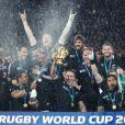 Les All Blacks ont été remporté la Coupe du monde de rugby en battant la France en finale le 23 octobre 2011 à l'Eden Park d'Auckland