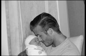 David Beckham : Toujours aussi papa-poule avec son adorable fille Harper